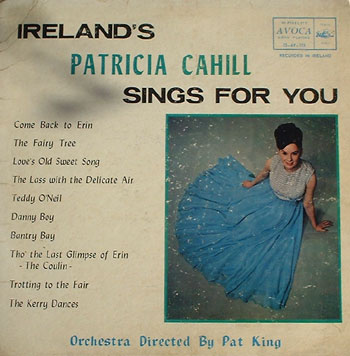 Ireland's Patricia Cahill Sings for You